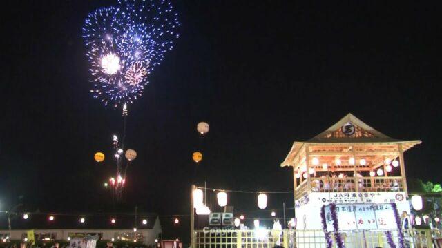 デカンショ祭(花火)①