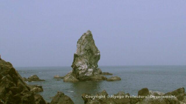 上立神岩(淡路島百景)①
