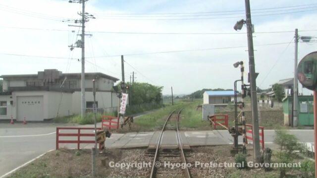 北条鉄道(車窓・粟生駅から北条町駅)