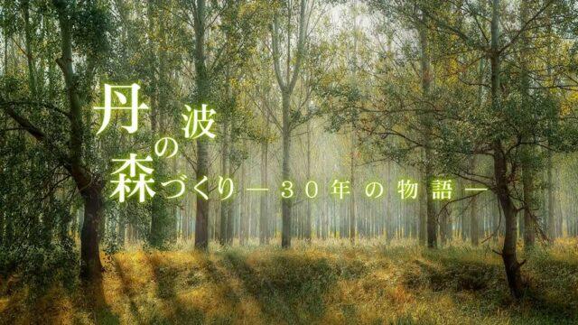 3-2「丹波の森づくりのこれまで」