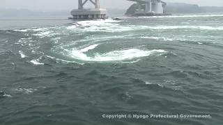 鳴門の渦潮(淡路島百景)①
