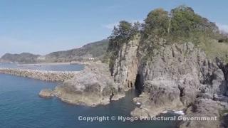 山陰海岸ジオパーク(岡見公園)