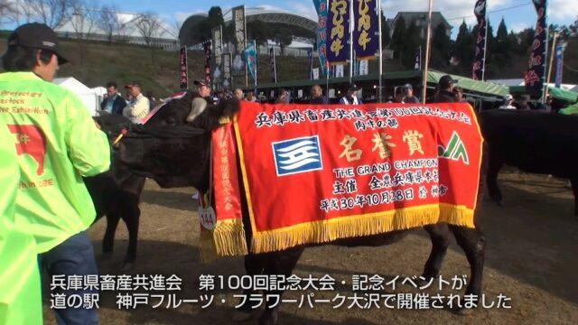 兵庫県畜産共進会 第100回記念大会