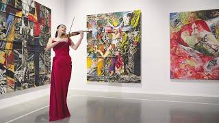 横尾忠則×川井郁子-アートとヴァイオリンの競演-「Unframed」