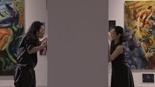 横尾忠則×草刈民代-アートとダンスの競演-「in between」